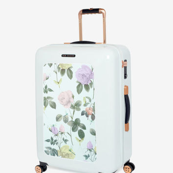 Medium distinguishing rose suitcase - Mint | Bags | Ted Baker UK