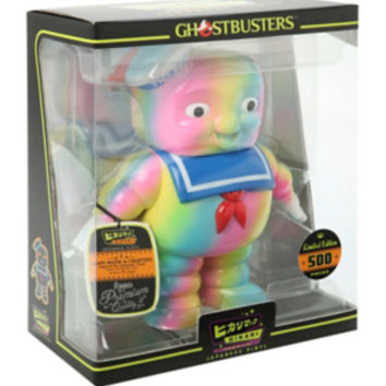 Funko Ghostbusters Hikari Rainbow Stay Puft Marshmallow Man Vinyl Figure Hot Topic Exclusive