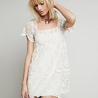 Jen s Pirate Booty for Free People Womens Pixie Short Sleeved Dress