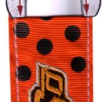 oklahoma state - keychain lip balm holder Case of 144