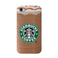 Season.C Starbucks Ice Coffee iPhone 5 5S iPhone Cases Cover