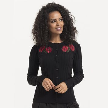 Faith Poppy Cardigan