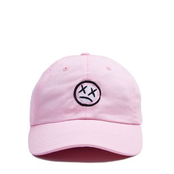 Patch Dad Hat - Pink