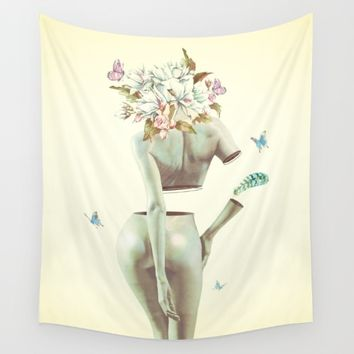 In Control Wall Tapestry by Daniel Taylor