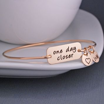 One Day Closer Bracelet