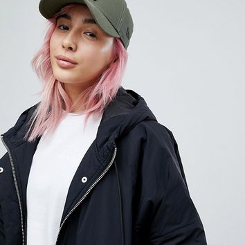 New Era 9Forty Cap in Khaki with Black NY Embroidery at asos.com