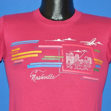 80s Nashville Tennessee Rainbow t-shirt Youth Large