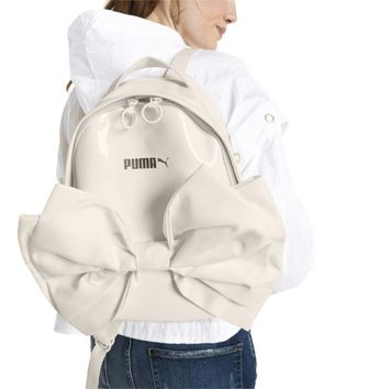 Archive Bow Suede Women's Backpack | Whisper White | PUMA Accessories BOGO | PUMA United States