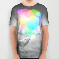 The Echoes of Silence All Over Print Shirt by Soaring Anchor Designs | Society6