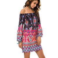 Casual Bohemian Female Beach Summer Night Club Party Dress