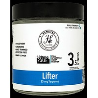 Lifter 16.77% CBD Flower