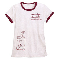 Eeyore Ringer T-Shirt for Women - Winnie the Pooh