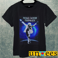 Michael Jackson Moon Wallker Men T Shirt