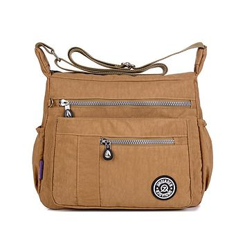 Casual Women Messenger Bags Female Shoulder Bag High Quality Crossbody Bags For Women Handbags Nylon Bolsos Sac A Main