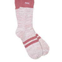 Cozy Crew Socks - PINK - Victoria's Secret