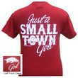 Arkansas Razorbacks Hogs Just A Small Town Girl Girlie Bright T Shirt