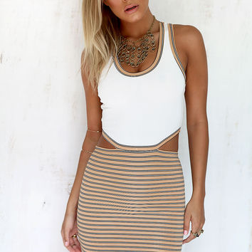 Buy Kenny Striped Dress Online by SABO SKIRT