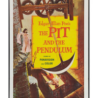 THE PIT AND THE PENDULUM, 1961.