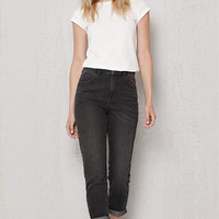 PacSun Washed Black Mom Jeans at PacSun.com