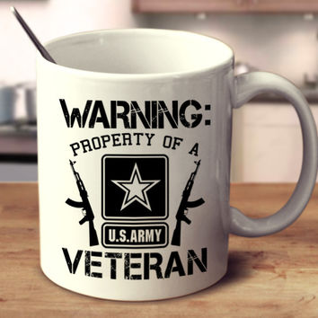 Warning: Property Of A Veteran