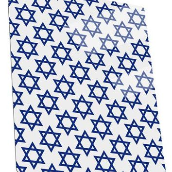 Stars of David Jewish Metal Panel Wall Art Portrait - Choose Size by TooLoud