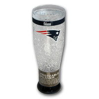 16Oz Crystal Freezer Pilsner NFL - New England Patriots