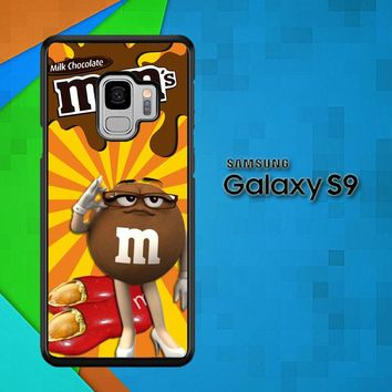 Chocolate Candy M&M Y2361 Samsung Galaxy S9 Case