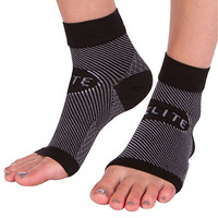 Achilles Tendon Support Ankle Brace (1 Pair) Best Foot Compression Sleeve Wrap for Tendonitis Pain Relief
