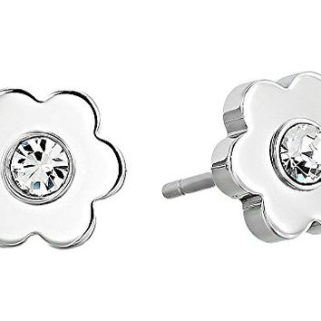 Michael Kors In Full Bloom Floral Studs Earrings