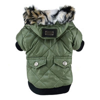 Dog Winter Warm Coat Pet Puppy Hoodie Jacket Costume Clothes XS/S/M/L/XL/XXL = 1932559236