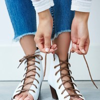 Free People Serenade Lace-Up Boot