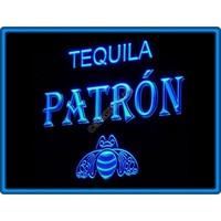 Tequila Patron Bar Pub Restaurant Neon Light Sign