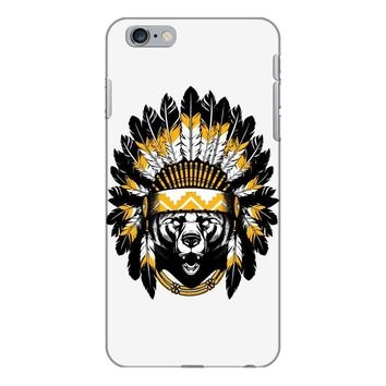 native american chief bear iPhone 6/6s Plus Case