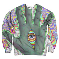 The Trippy Palm Sweatshirt