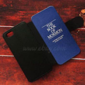 The Book of Mormon Wallet iPhone cases Book Samsung Wallet Leather Phone Case