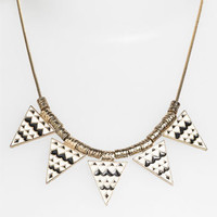 Stephan & Co. 'Aztec Triangle' Statement Necklace   Nordstrom
