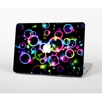 The Glowing Neon Bubbles Skin Set for the Apple MacBook Air 11""