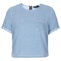 MOTO Bleach Pocket Tee - New In This Week - New In - Topshop USA