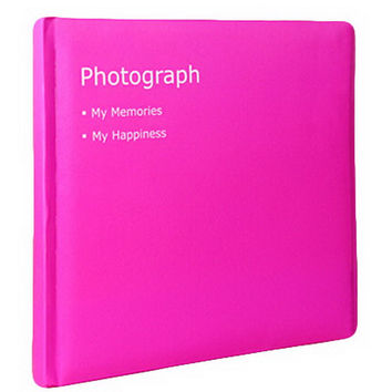 Creative Inset Photo Memory Book/Album of Baby's First 5 Years(Pink)