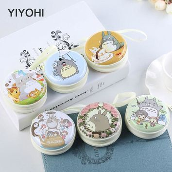 YIYOHI Women Kawaii Totoro Mini Bag Cartoon Totoro  Coin Purse kids Girls Wallet Earphone Box Bags  Wedding Gift  Christmas Gift