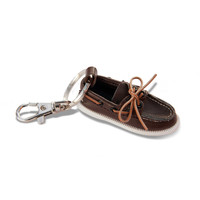 Sperry Top-Sider Authentic Original Classic Brown Boat Shoe Key Chain