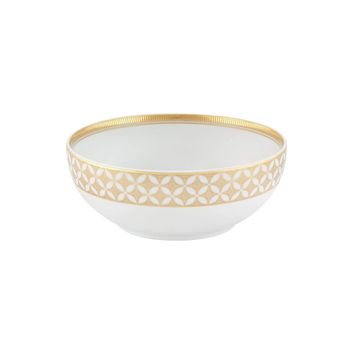Gold Exotic Cereal Bowl
