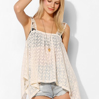 Staring At Stars Embroidered Lace Tank Top - Urban Outfitters
