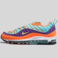 AUGUAU NIKE AIR MAX 98 QS CONE TOUR YELLOW-HYPER GRAPE