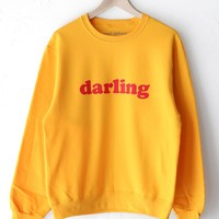 Darling Oversized Sweatshirt