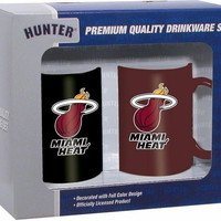 Hunter 2 Pack Coffee Mug - Miami Heat