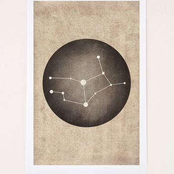 Virgo Constellation, Virgo Art, Virgo Gift
