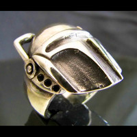 Bronze BOBA FETT RING - Bounty Hunter Star Wars Ring - Custom Fitted Sizes