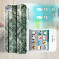 unique iphone case, i phone 4 4s 5 case,cool cute iphone4 iphone4s 5 case,stylish plastic rubber cases cover, green wood grain  bp2174