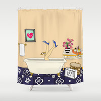 That's my LifeStyle Shower Curtain by Uzualsunday